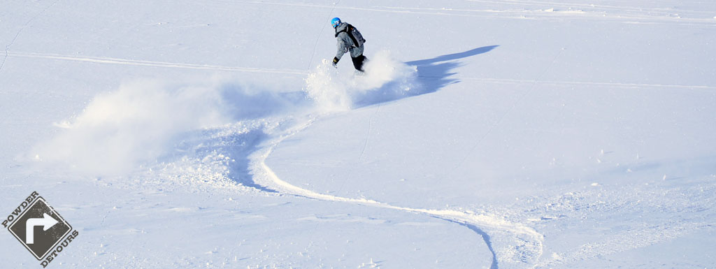 Powder Detours at Asahidake