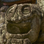 Traditional old stone carvings