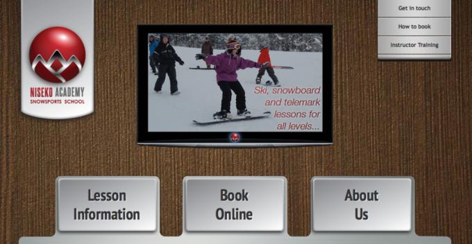 Niseko Academy Snowsports School website