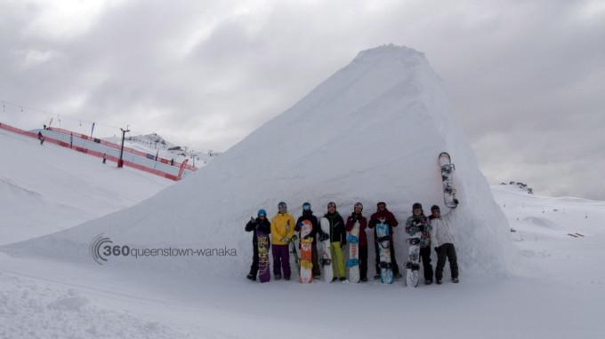 Cardrona ITC snowboard crew 2013