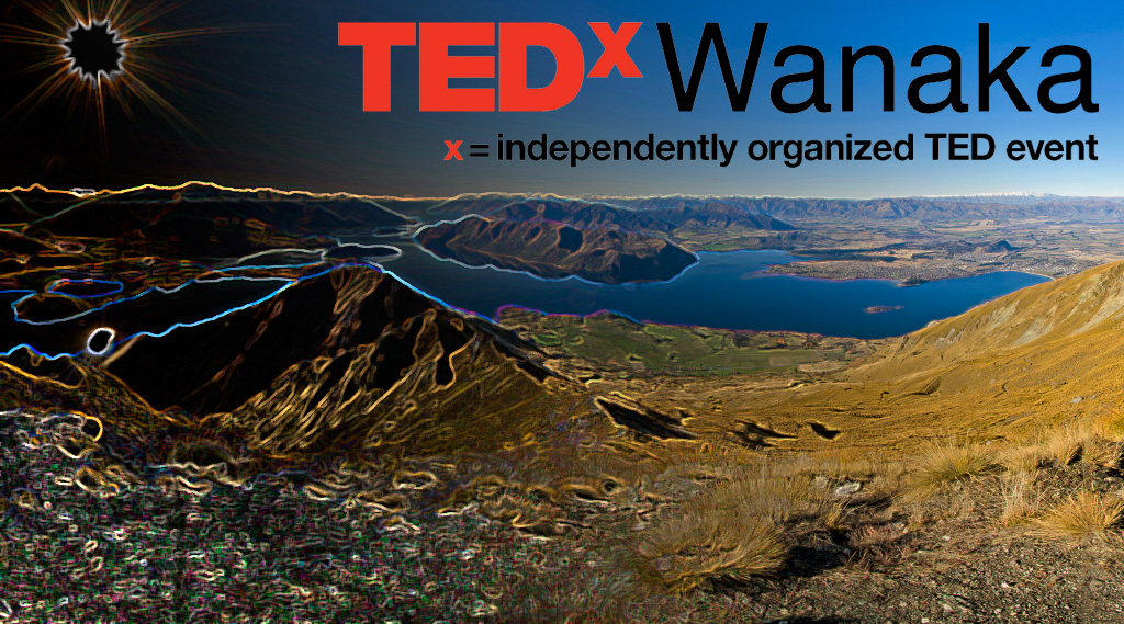 Quick graphics work for TEDxWanaka