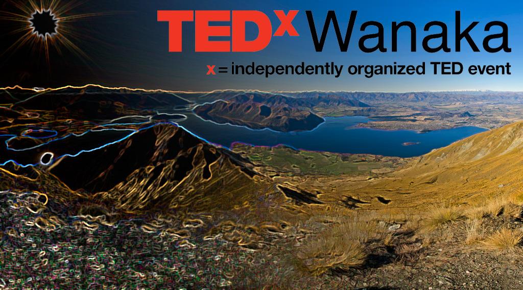 Quick graphics work for TEDxWanaka