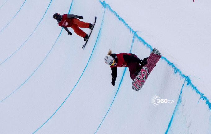 Snowboard groms at the 2014 Junior Nationals