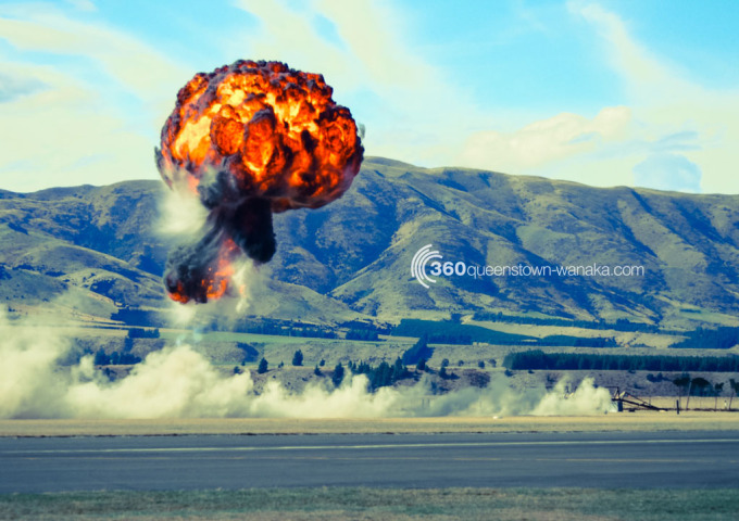 Explosions at Warbirds Over Wanaka
