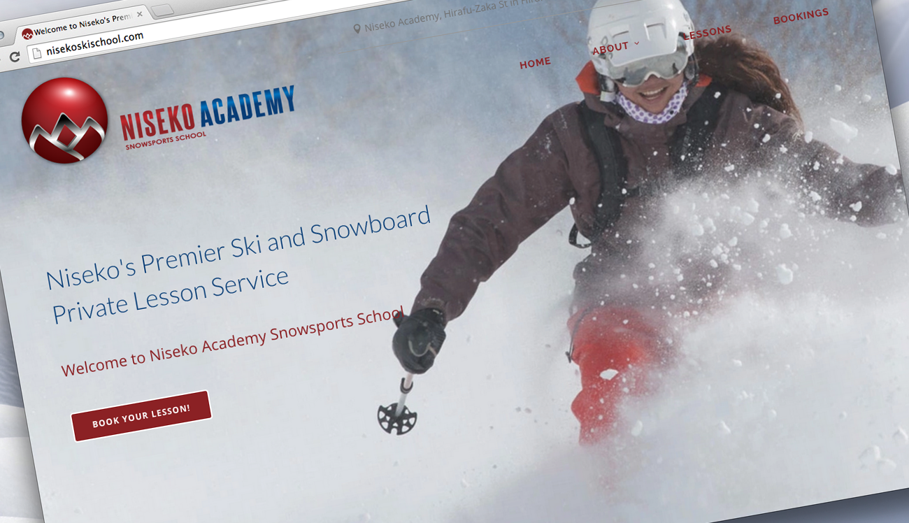 Three New Websites for Niseko Academy